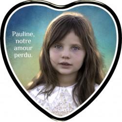 Médaillon Funéraire Coeur...