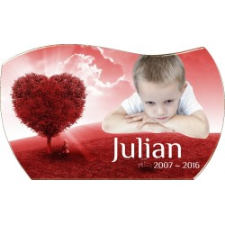Memorial book plaque 7.9 x...